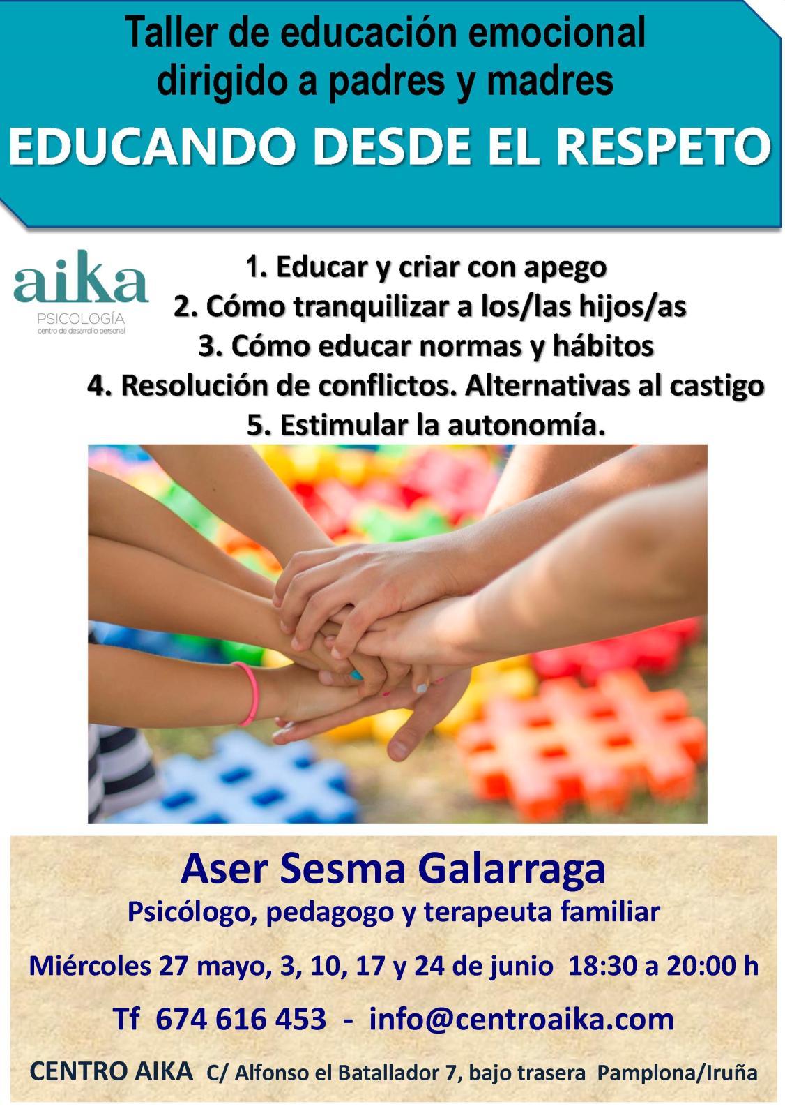 cartel curso Aika mayo 2020